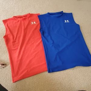 Mens under armour muscle tanks (2)